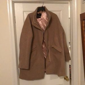 Jcrew wool coat, size 18, worn once